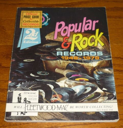Popular and Rock Records Official Price Guide 2nd Edition, Jerry Osborne, 1978