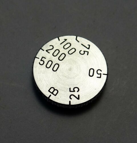 Leica shutter speed dial for If-IIf red dial series - new factory parts