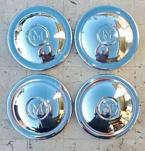 Morris Minor 1000 set of 4 original Hub Caps. Very Good Cond. Upper Coomera Gold Coast North Preview