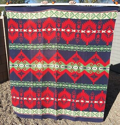 Vintage Beacon Blanket - Camp Style with Southwestern Designs