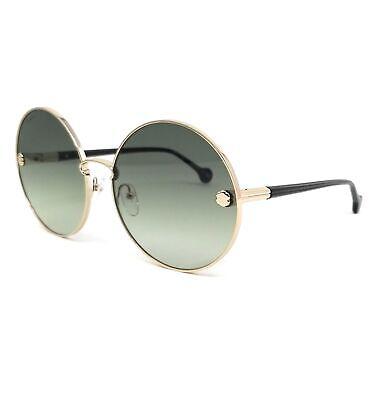 Salvatore Ferragamo Sunglasses SF189S 709 Gold Round Women 63x17x140
