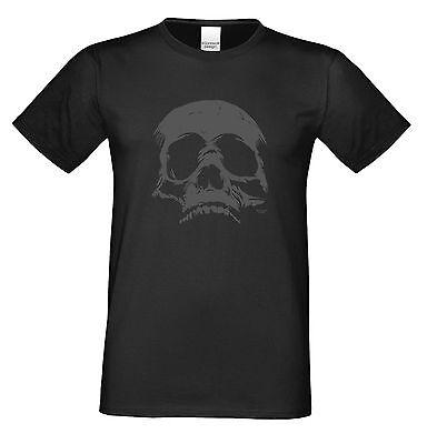 Skull Totenkopf Halloween-Kostüm Sprüche Fun-T-Shirt Herren  _ Farbe: - Fun Herren Kostüm