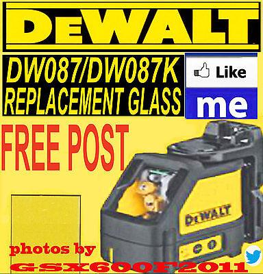 DEWALT DW087/DW087K REPLACEMENT GLASS/SCREEN/LASER LEVEL/ REPAIR  CROSS LINE