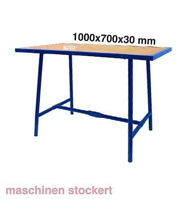 Klappwerkbank Werkbank mobil Werktisch klappbar 1000x700x30mm Montage