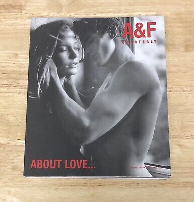 Abercrombie & Fitch Quarterly Spring Break 2002 About Love Catalog Bruce Webber
