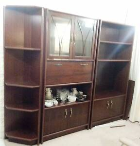 Display Cabinet with Built in Mirrored Bar Scoresby Knox Area Preview