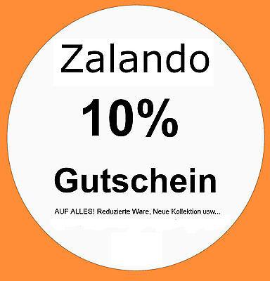 ●SOFORT VERSAND● 10% Zalando Gutschein Alles für BESTANDSKUNDEN & NEUKUNDEN
