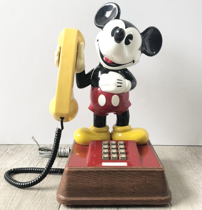 VTG The Mickey Mouse Phone TEIF-8000 Touchtone Landline House Phone