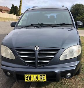 2006 Ssangyong Stavic Wagon Muswellbrook Muswellbrook Area Preview