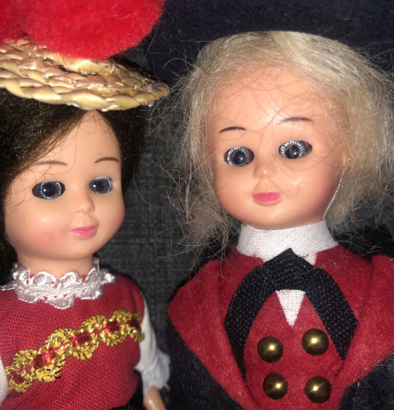 Estate Vintage Haunted Dolls From Germany