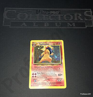 Pokemon Cards - TYPHLOSION 17/111 - 2ND GEN - NEO GENESIS - HOLO - TCG ( NM )
