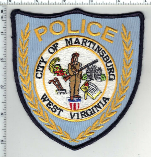 City of Martinsburg Police (West Virginia) 4th Issue Shoulder Patch 1980