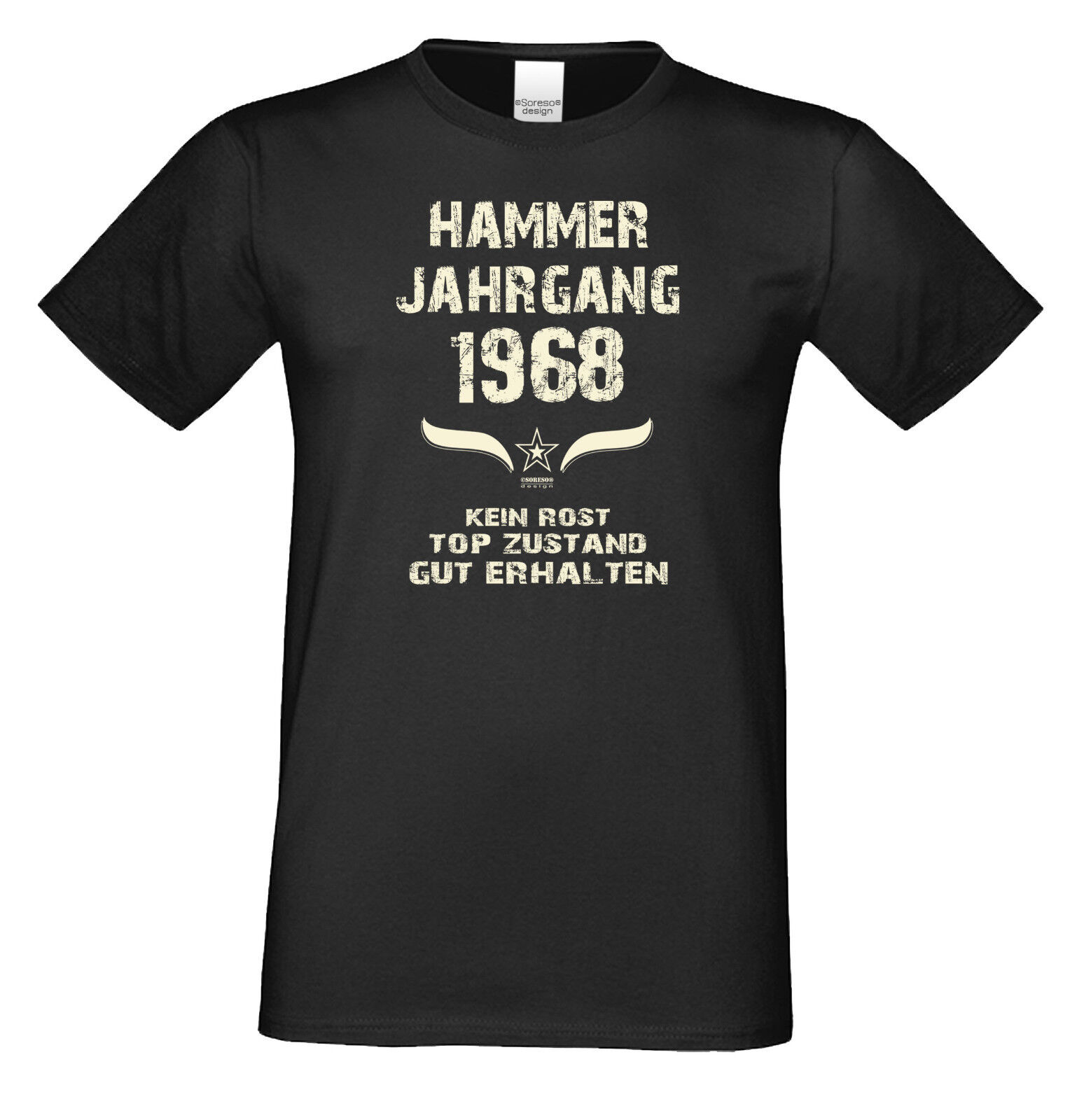 мужская футболка T Shirt Zum 50 Geburtstag Geschenk Frau Mann 1968 T Shirts Lustige Fun Sprüche