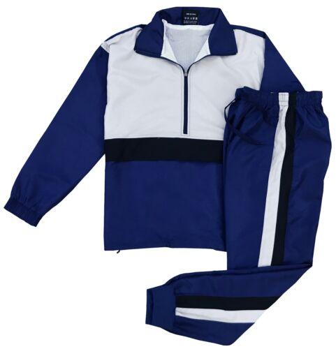 Mens Joggar Summer Wind Breaker Track Suit Jogging Suit S M L XL 2XL 3XL 4X 5XL