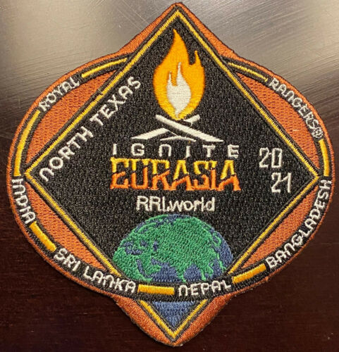 Royal Rangers North Texas 2021 Ignite Eurasia Fundraising Patch