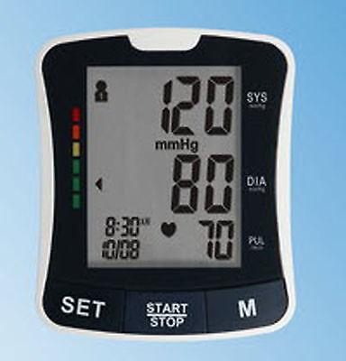 EastShore BP2208 Wrist Blood Pressure Monitor ENGLISH TALKING 120 MEMORY WHO
