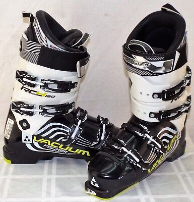16fbb2f21 Fischer RC4 130 'Vacuum Full Fit' Used Men's Ski Boots Size 29.5 #540992