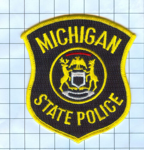 Police Patch - Michigan - STATE POLICE