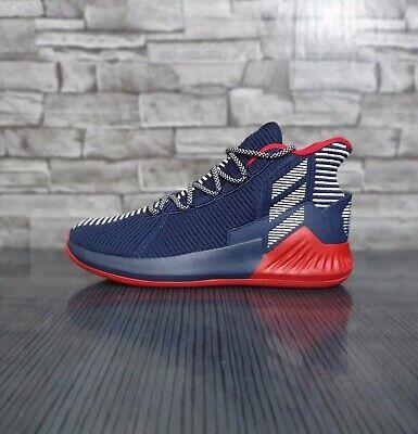 adidas D Rose 9 AQ0036 Basketball sneaker Navy UK 10