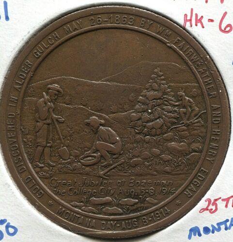 1914 MT - HK - 662 - SC$1 - R 4 - Montana 25th Anniversary -  Lot #TT 2101