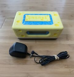 Spongebob Squarepants Digital Alarm Clock Radio Sleep Snooze NPOWER NCR3020-SB