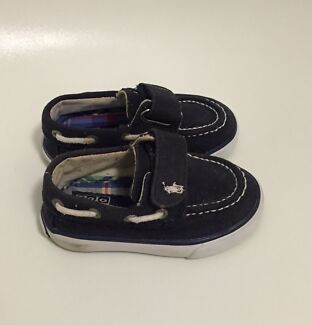 Polo Ralph Lauren Canvas Baby shoes - Navy - Size USA 4, EUR 19 Sherwood Brisbane South West Preview