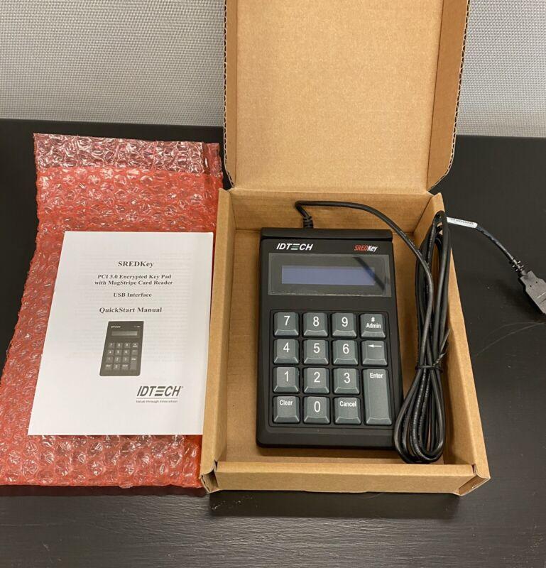 NEW ID Tech IDSK-534833TXB USB Magstripe Card Reader