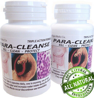 60 count Parasite Blood Liver Colon Yeast Killer Cleanse DETOX ((1,000's SOLD!))