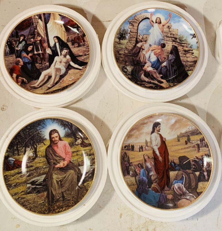 Danbury Life Of Christ Collector Plates - Set Of 8