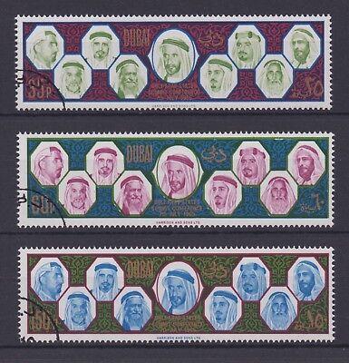 Dubai  Uae    1966 Gulf Arab States Summit  Cto F Vf   Michel 208 10
