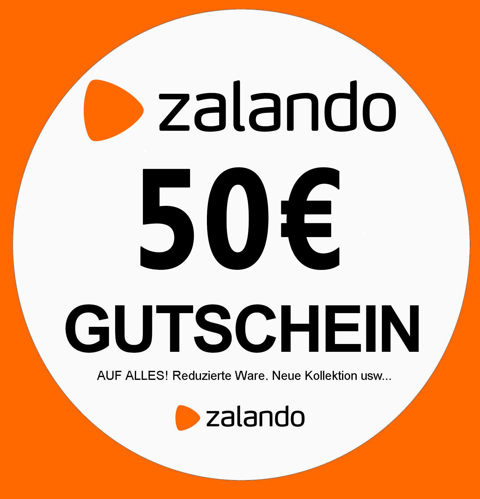 Zalando Gutschein in Wert von 50€ **bis zu 50 % sparren**