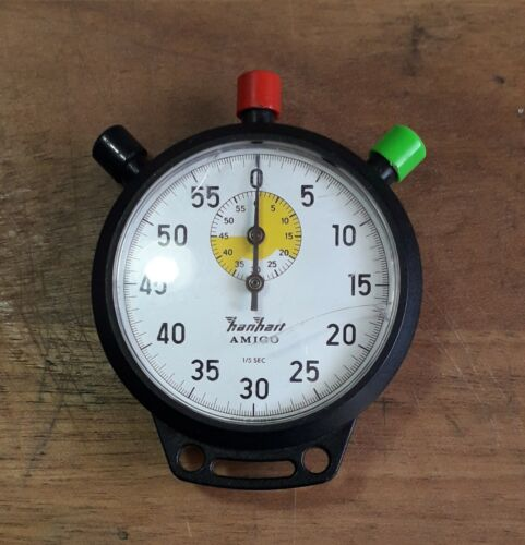 Vintage Mechanical Stopwatch Hanhart-Amigo  ,old,  Germany produced