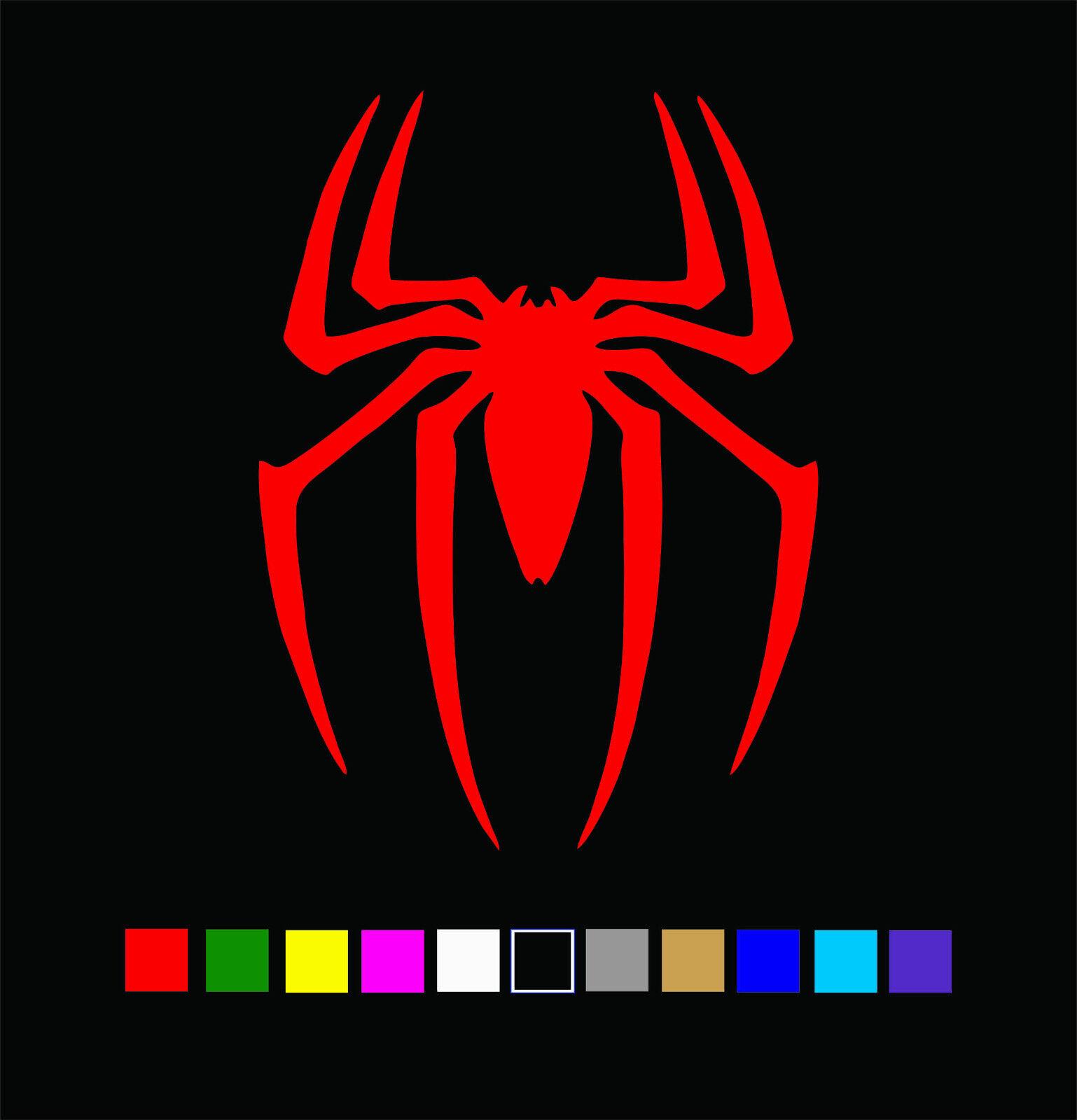 Home Decoration - SPIDERMAN Spider Emblem Logo Vinyl Decal Die Cut Sticker