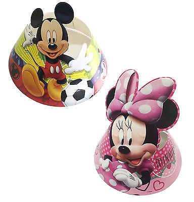 6 stk. Kinder Geburtstag Minnie Micky Maus Themenparty Papier Hüte Party