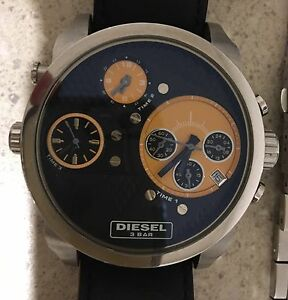 Diesel watch only the brave 3 bar Italian watch brand Kingston Kingborough Area Preview