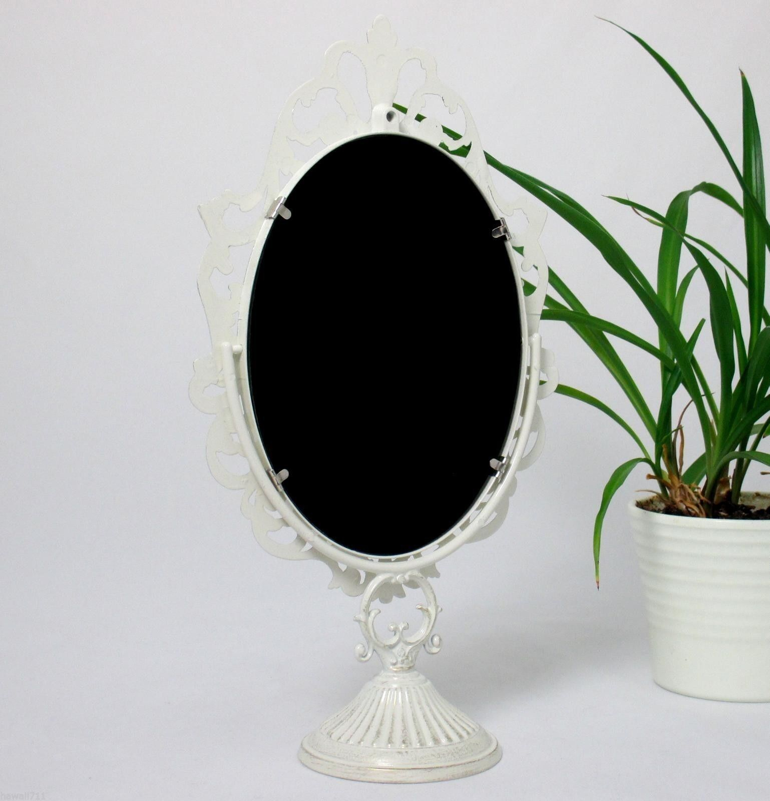 standspiegel deko spiegel kippspiegel schminkspiegel kosmetikspiegel antik 32 cm eur 29 85. Black Bedroom Furniture Sets. Home Design Ideas
