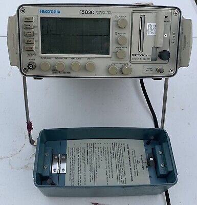 Tektronix 1503c Portable Tdr Cable Tester Working