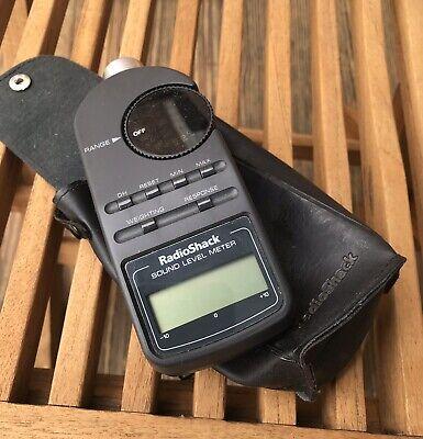 Vintage Radio Shack Realistic Sound Level Meter Model 33-2050