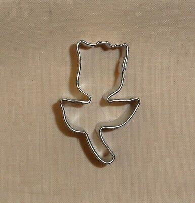 Tulip Cutter - Tulip with Stem Mini,Cookie Cutter,Metal,1.5
