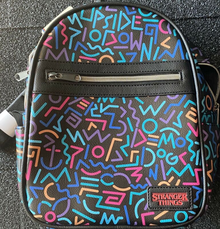 Stranger things/Netflix 80s-Themed Mini Backpack