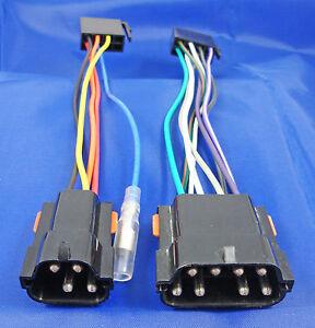 range rover classic iso radio unit adaptor loom harness wiring new ebay