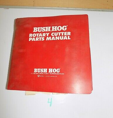 Bush Hog Rotary Cutter Disc Mower Master Parts Catalog Manual Rough 200