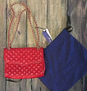 Like new - Rebecca Minkoff Quilted studded Affair bag