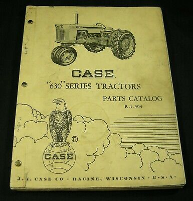Case 630 Series Diesel And Gas Tractor Parts Manual Book Catalog List