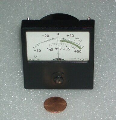 Analog Panel Meter Dc 50-0-50ua Ammeter Made In Russia M42305