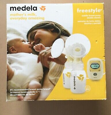 Medela Freestyle Mobile Double Electric Breast Pump - New in Box