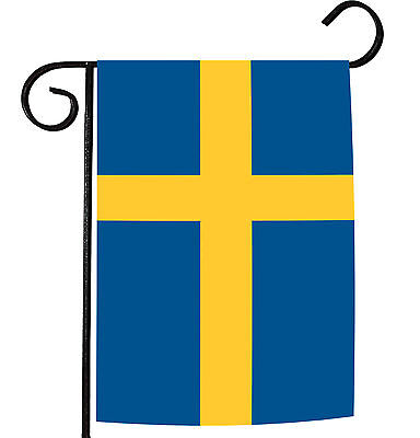 Toland Flag of Sweden 12.5 x 18 Swedish Nation Country Garden Flag ()