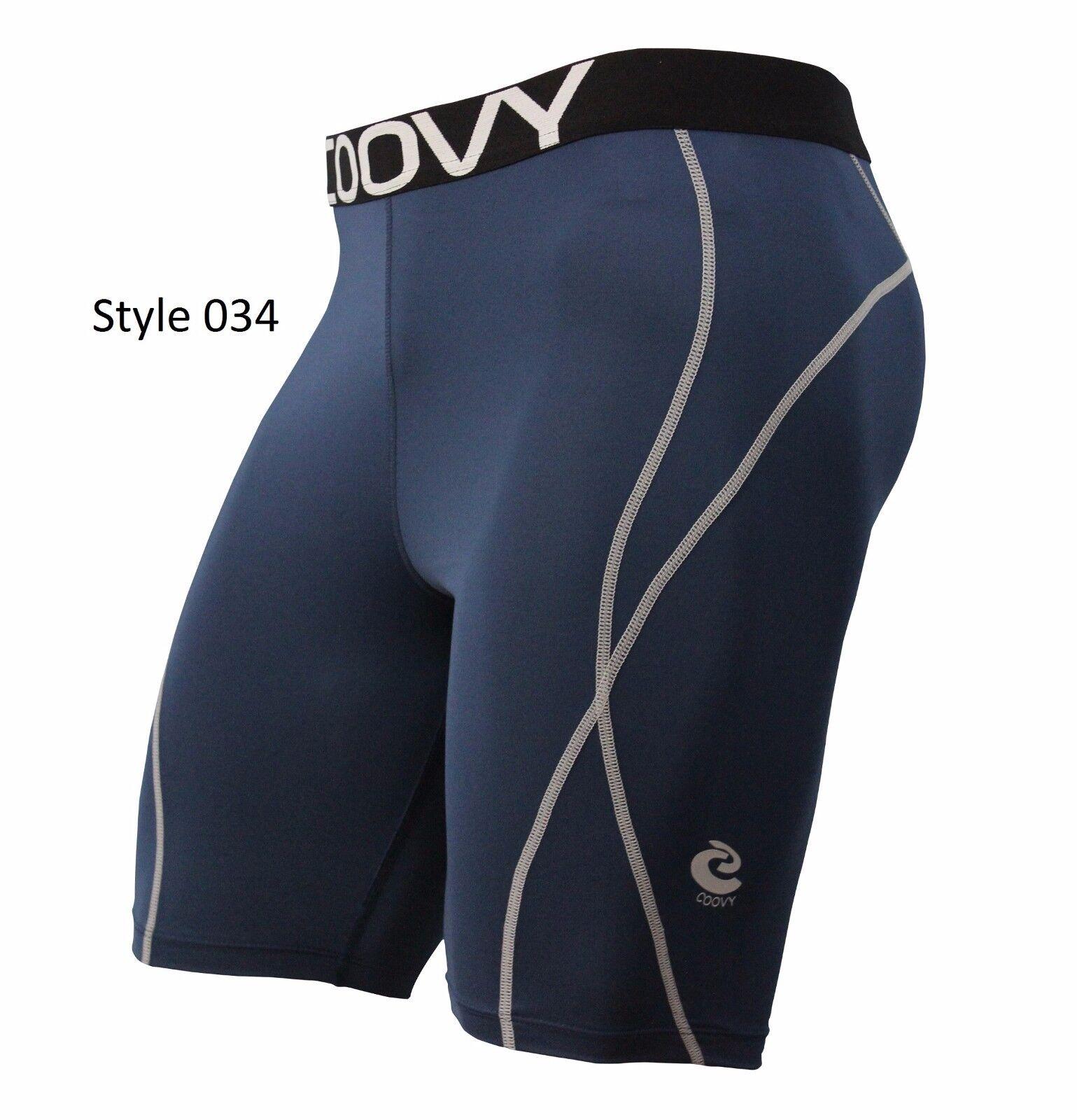 034B Midweight Navy Shorts