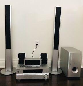 Pioneer 5.1 700 Watt Home Audio System including Subwoofer
