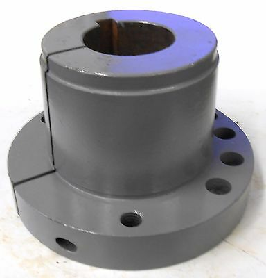 "UNKNOWN BRAND QUICK DISCONNECT BUSHING F 2 1/8, 2 1/8"" BORE, 6 5/8"" DIAMETER"